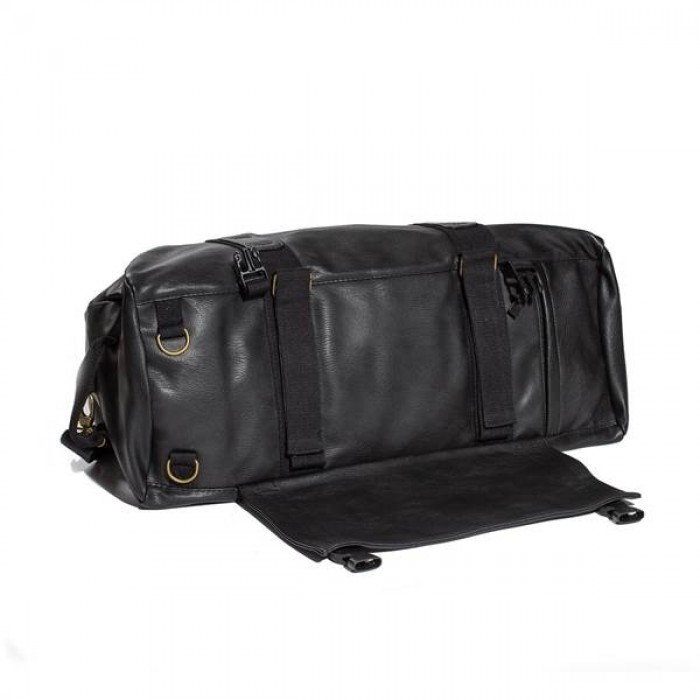 Grizzly Leather Military Duffle bag-01