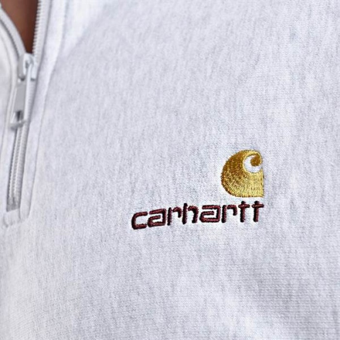 Carhartt WIP Half Zip American script-01
