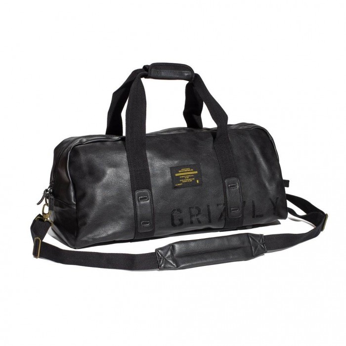 Grizzly Leather Military Duffle bag-31
