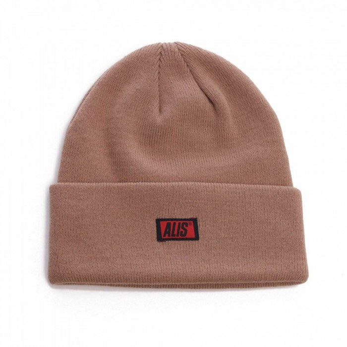 AlisClassicBoxLogoLowBeanie-31