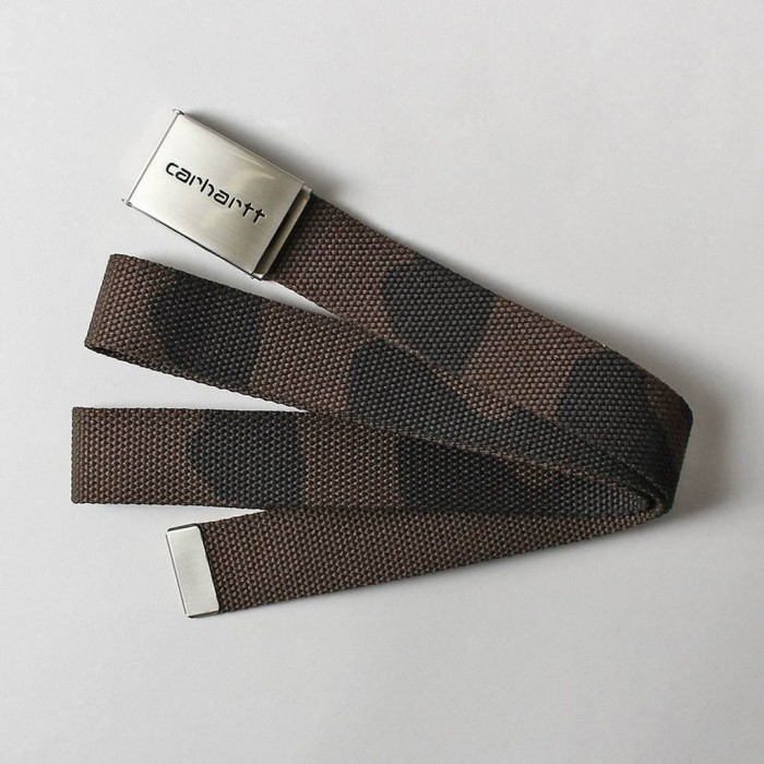 Carhartt WIP Clip Belt Chrome-31