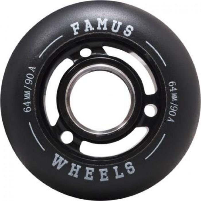 Famus64mmAggressiveInlineHjulSort90A-31