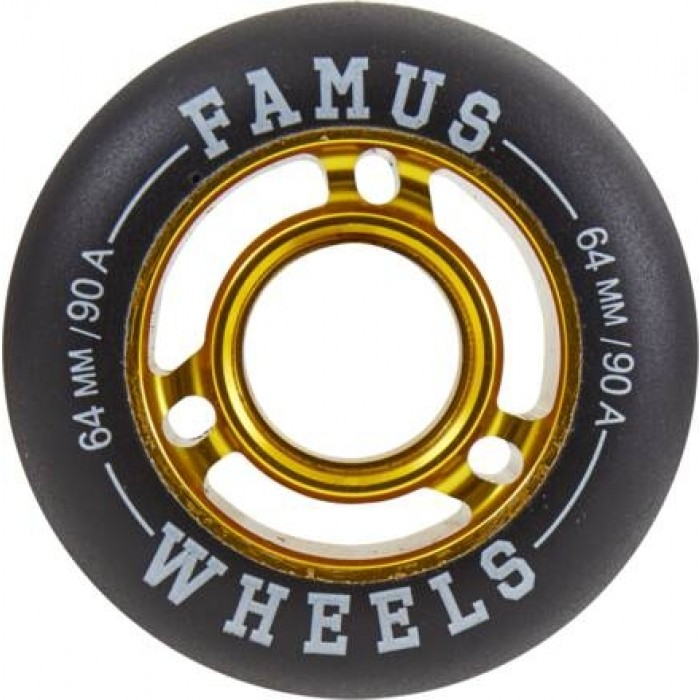 Famus64mmAggressiveInlineHjulguld90A-31
