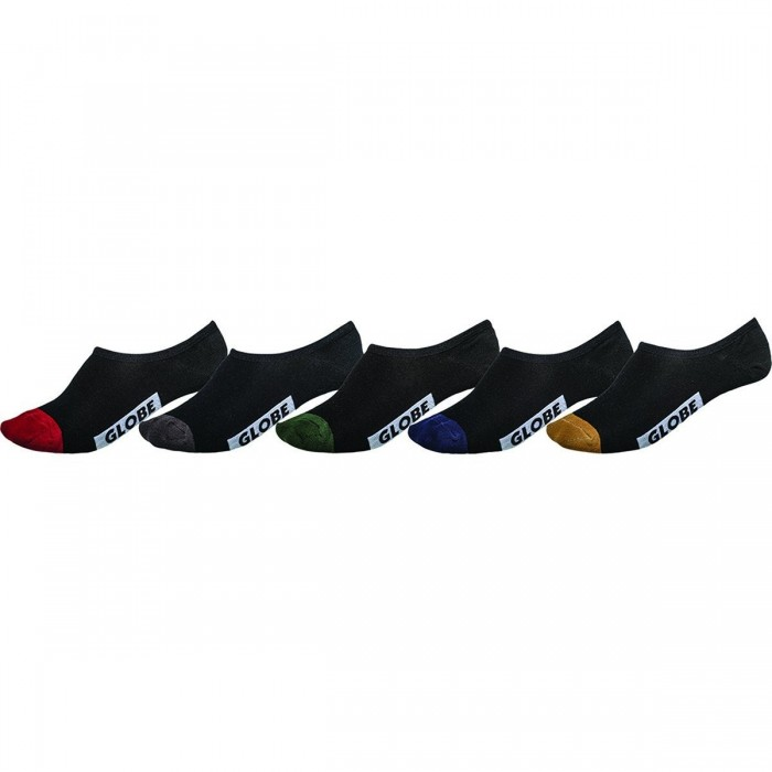 GlobeDipInvisibleSock5pack-32
