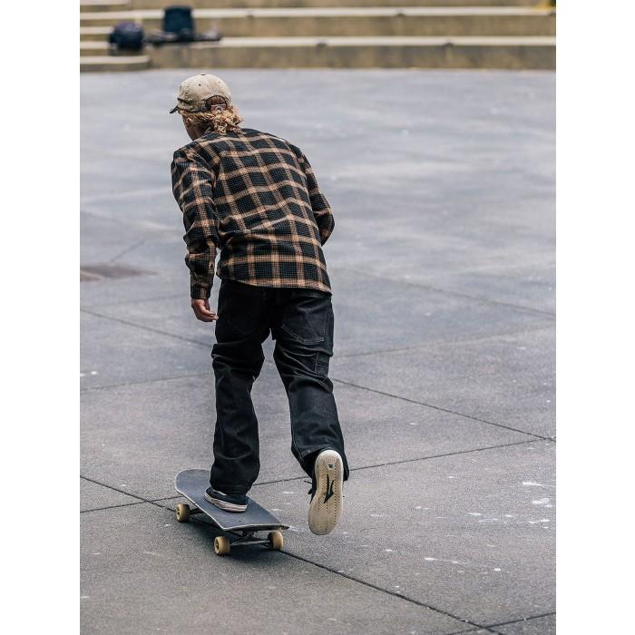 Volcom X GIRL Skateboards L/S Shirt-01