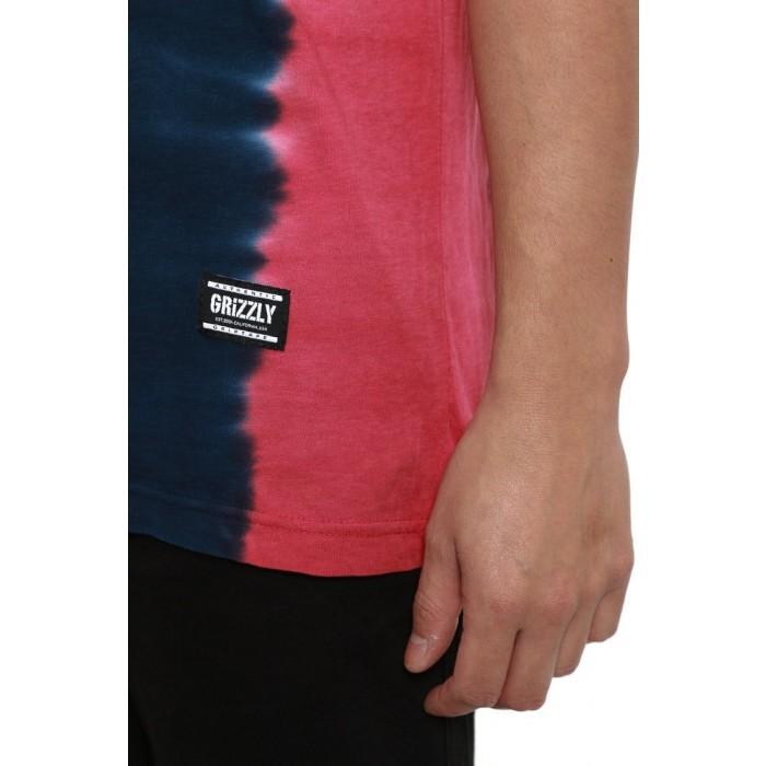 Grizzly T-bone Tie Dye Stamp Tee-01