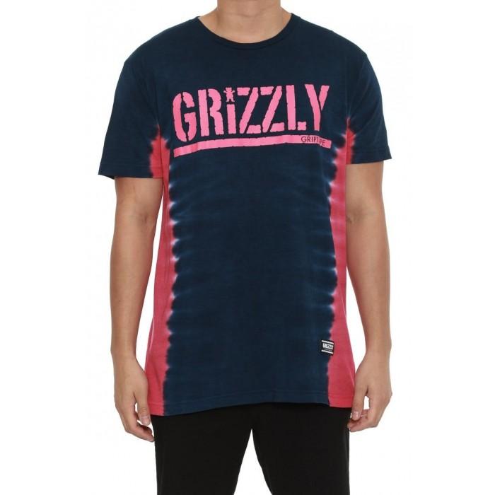 Grizzly T-bone Tie Dye Stamp Tee-31