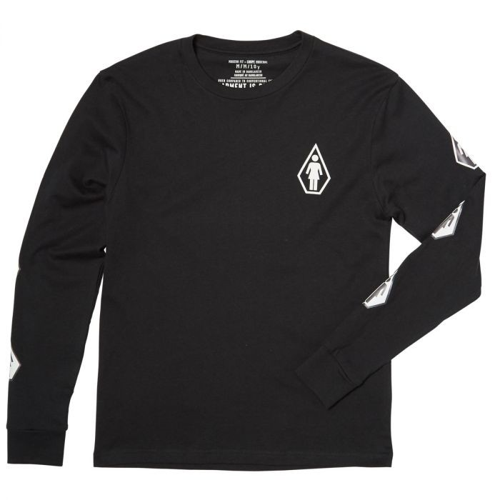 Volcom Deadly Girl LS Youth Tee-31