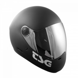 TSG Pass Solid Visir Skatehjelm