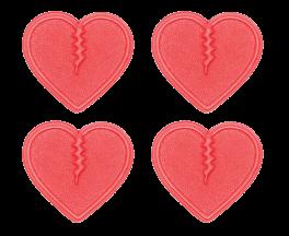Crab Grab Mini Hearts 4-pack