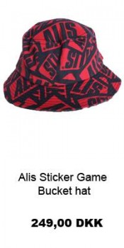 Alis Sticker Game Bucket Hat