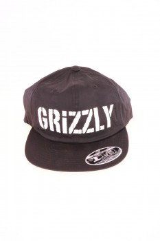 Grizzly Stamp Logo Snapback