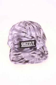 Grizzly Digi Tie Dye 5 Panel Hat