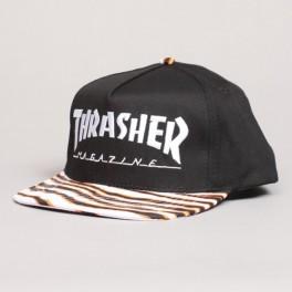 Thrasher Snapback Tiger Stripe Cap