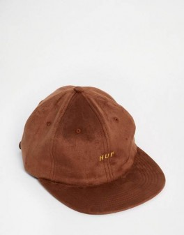 HUF Suede 6 panel
