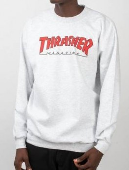 Thrasher Outlined Crew