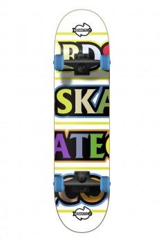 BD Skateco Color Letter Komplet Skateboard