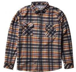 Vissla Eco-Zy Ls Polar Flannel Skjorte