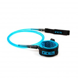 FCS 9' All Round Calf Essential Leash Black/Blue