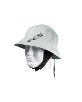 FCS Essential Surf Bucket Hat Light Grey LG