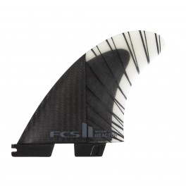 FCS II Reactor PC Carbon Black/Charcoal Tri Retail Fins