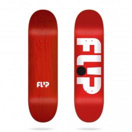 Flip Odyssey Logo Red Skateboard Deck