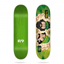 Flip Toms Friends Green Room Skateboard Deck
