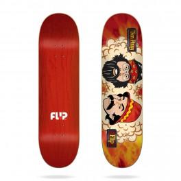 Flip Toms Friends Orange Sunshine Skateboard Deck