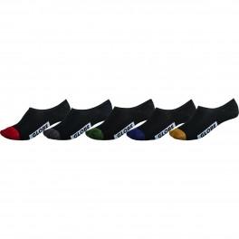 Globe Dip Invisible Sock 5 pack