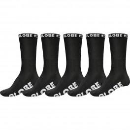 Globe Boys Blackout Sock 5 pack