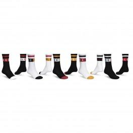 Globe Block Wrap Sock 5-pack