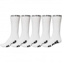 Globe Whiteout Crew Sock 5-pack