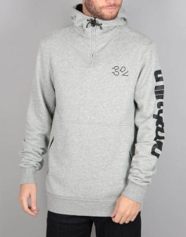 Thirty Two Stamped Hooded Pullover