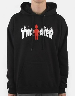 Thrasher x Girl Skateboards Flame