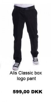 Alis Classic box logo pant