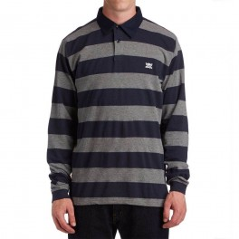 4Star Pirate Stripe Polo L/S