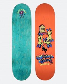 Santa Cruz Pro Delfino Ego Skateboard Deck
