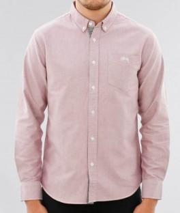 Stüssy Bad Boy Oxford Shirt L/S
