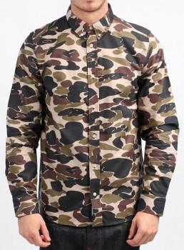 Carhartt X' L/S Camo Oxford Shirt