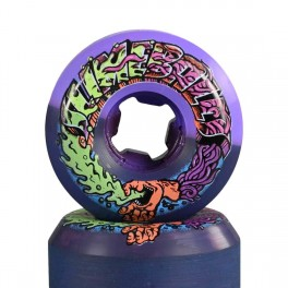 Santa Cruz Greetings Speed Balls Purple Black 99A Slime Balls Skateboard Hjul