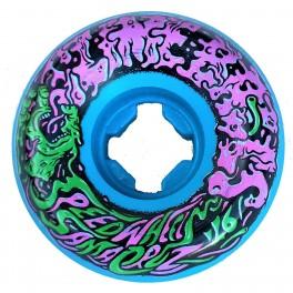 Santa Cruz Slime Balls Vomit Mini II Blue 97A Skateboard Hjul