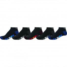 Globe Multi Stripe Ankle Sock 5-pack