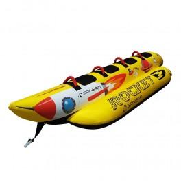 Spinera Rocket 4 TUBE Bananbåd for 4 personer