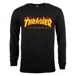 Thrasher L/S Flame Long Sleeve Tee