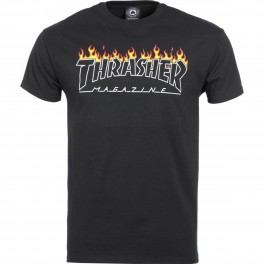 Thrasher Scorched Outline S/S Tee