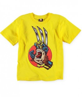 Marvel x Santa Cruz Boys Wolverine Tee