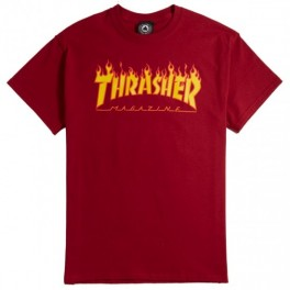 Thrasher S/S Flame Logo Tee