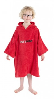 Dryrobe® KidsOrganic Cotton Towel Robe - Short Sleeve