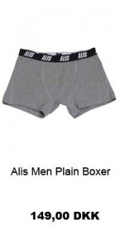 Alis Men Plain Boxer