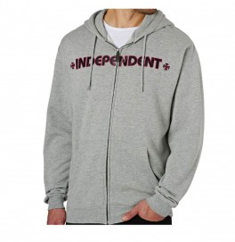 Independent Bar Cross Zip Boy
